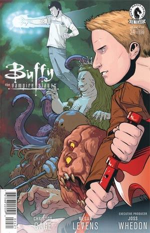 Buffy The Vampire Slayer Season 10 #24 Cover B Variant Rebekah Isaacs Cover