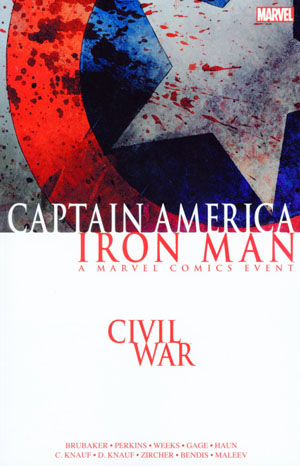 Civil War Captain America Iron Man TP