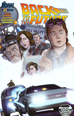 LCSD 2015 Back To The Future Vol 2 #1 Variant LCSD Cover