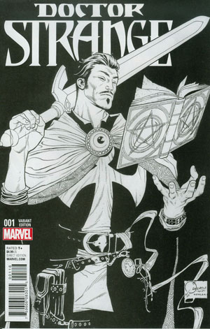 Doctor Strange Vol 4 #1 Cover L Incentive Joe Quesada Sketch Variant Cover
