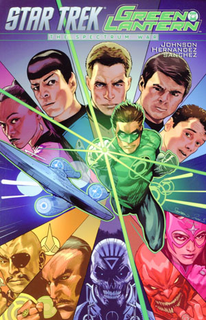 Star Trek Green Lantern Spectrum War TP