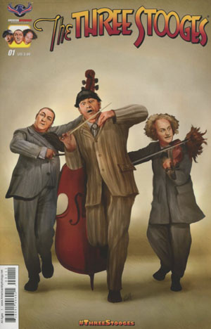 Three Stooges Boys Are Back #1 Cover A Regular Chris Scalf Cover