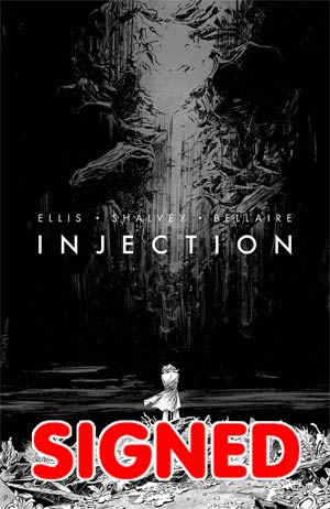 Image Giant-Sized Artists Proof Edition Injection #1 Cover B Signed Bookplate Edition By Declan Shalvey