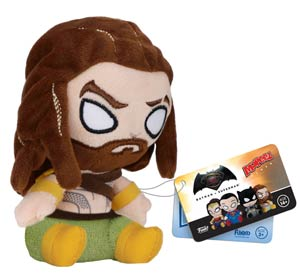 Mopeez Batman v Superman Dawn Of Justice Aquaman Plushie