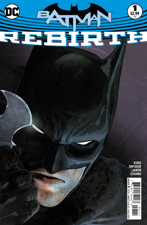 Batman Rebirth #1 Cover A 1st Ptg Regular Mikel Janin Cover