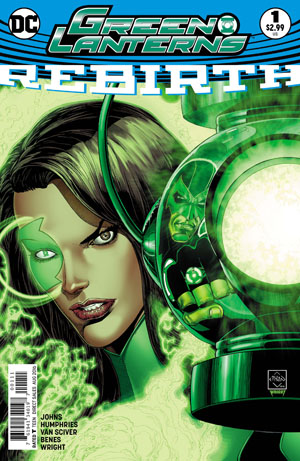 Green Lanterns Rebirth #1 Cover A 1st Ptg Regular Ethan Van Sciver Cover