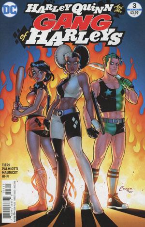 Harley Quinn And Her Gang Of Harleys #3 Cover A Regular Amanda Conner Cover