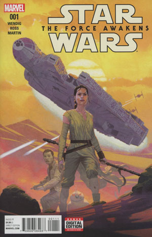 Star Wars Episode VII The Force Awakens Adaptation #1 Cover A Regular Esad Ribic Cover