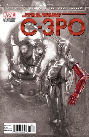 Star Wars Special C-3PO #1 Cover G Incentive Tony Harris Red Arm Spotlight Variant Cover