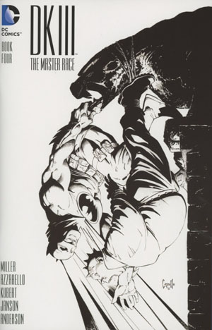 Dark Knight III The Master Race #4 Cover C Midtown Exclusive Greg Capullo Sketch Variant Cover