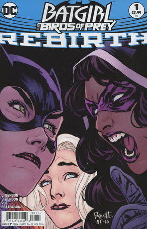 Batgirl And The Birds Of Prey Rebirth #1 Cover A Regular Yanick Paquette Cover