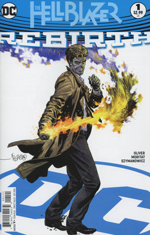 Hellblazer Rebirth #1 Cover B Variant Duncan Fegredo Cover