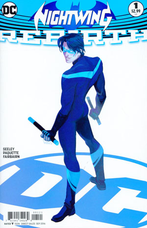 Nightwing Rebirth #1 Cover B Variant Babs Tarr Cover