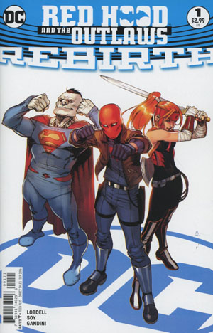 Red Hood And The Outlaws Rebirth #1 Cover B Variant Bengal Cover