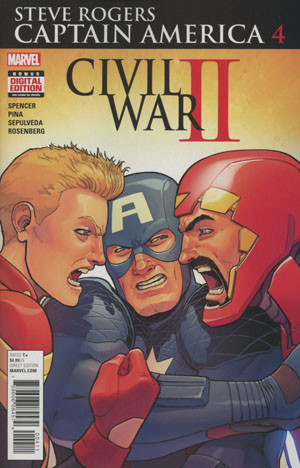 Captain America Steve Rogers #4 (Civil War II Tie-In)
