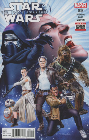Star Wars Episode VII The Force Awakens Adaptation #2 Cover A Regular Mike Mayhew Cover