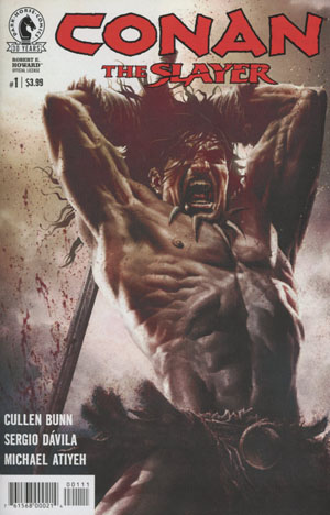Conan The Slayer #1 Cover A Regular Lee Bermejo Cover