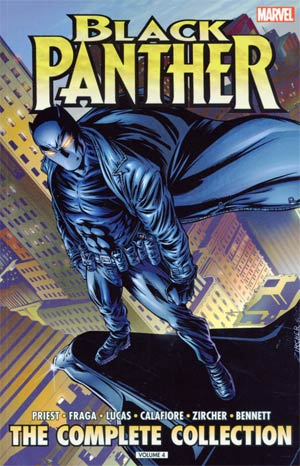 Black Panther By Christopher Priest Complete Collection Vol 4 TP