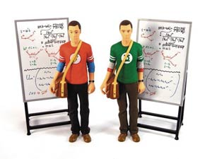 Big Bang Theory Sheldon Cooper Red Flash Shirt 7-Inch Action Figure