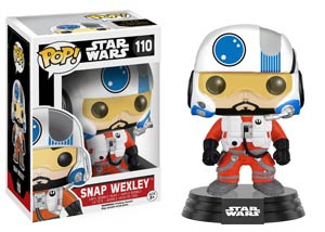 POP Star Wars 110 Episode VII The Force Awakens Snap Wexley Vinyl Bobble Head
