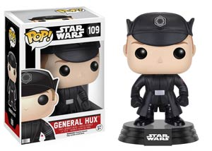 POP Star Wars 109 Episode VII The Force Awakens General Hux Vinyl Bobble Head