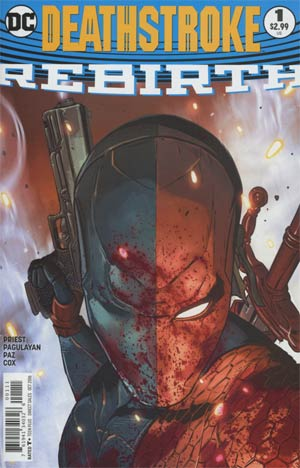 Deathstroke Rebirth #1 Cover A Regular Aco Cover
