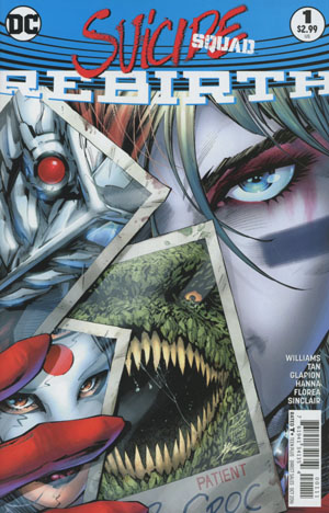Suicide Squad Rebirth #1 Cover A Regular Philip Tan Cover