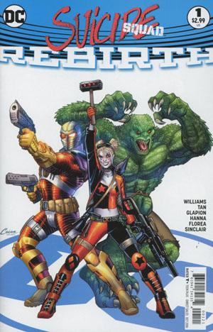 Suicide Squad Rebirth #1 Cover B Variant Amanda Conner Cover