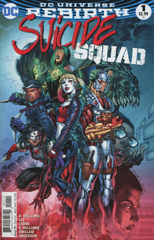 Suicide Squad Vol 4 #1 Cover A Regular Jim Lee Cover