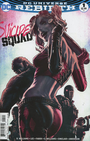 Suicide Squad Vol 4 #1 Cover D Variant Lee Bermejo Cover