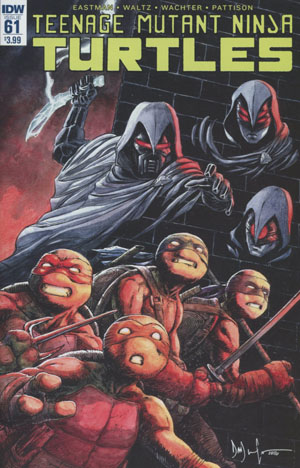 Teenage Mutant Ninja Turtles Vol 5 #61 Cover A Regular Dave Wachter Cover