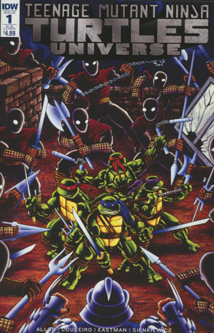 Teenage Mutant Ninja Turtles Universe #1 Cover B Variant Kevin Eastman & Peter Laird Subscription Cover