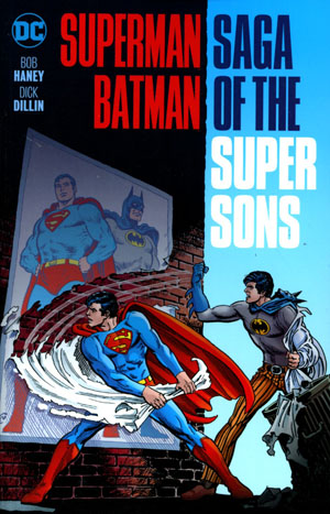 Superman Batman Saga Of The Super Sons TP New Edition