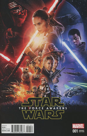 Star Wars Episode VII The Force Awakens Adaptation #1 Cover C Incentive Movie Variant Cover