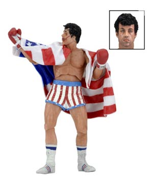 Rocky 40th Anniversary 7-Inch Series 2 Rocky IV Rocky Balboa Action Figure