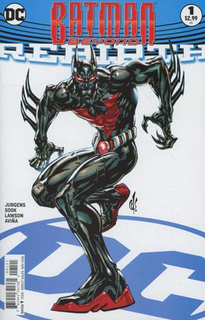 Batman Beyond Rebirth #1 Cover B Variant Carlos D