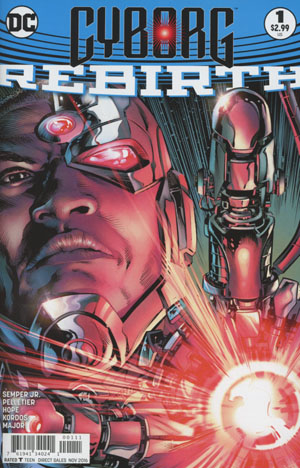 Cyborg Rebirth #1 Cover A Regular Will Conrad Cover