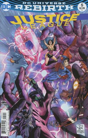 Justice League Vol 3 #5 Cover A Regular Tony S Daniel & Sandu Florea Cover