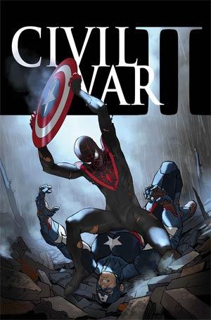 Civil War II #6 Cover A Regular Marko Djurdjevic Cover