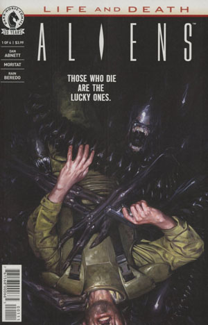 Aliens Life And Death #1 Cover A Regular David Palumbo Cover