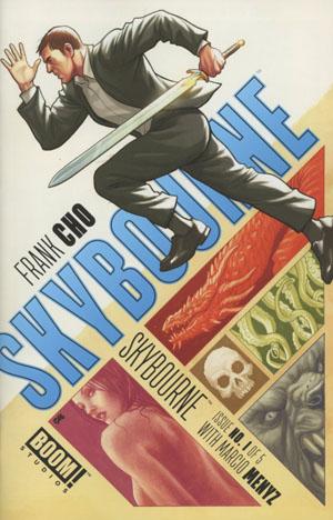 Skybourne #1 Cover A Regular Frank Cho Cover