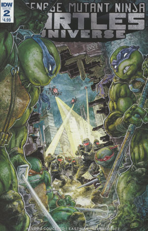 Teenage Mutant Ninja Turtles Universe #2 Cover A Regular Freddie E Williams Cover
