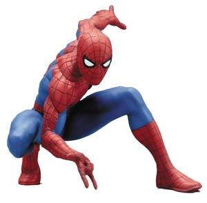 Amazing Spider-Man Spider-Man ARTFX Plus Statue