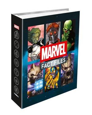 Marvel Fact Files Cosmic & Marvel Knights Specials Binder