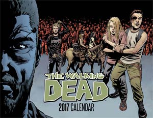 Walking Dead 2017 Calendar