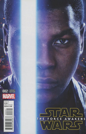 Star Wars Episode VII The Force Awakens Adaptation #2 Cover B Incentive Movie Poster Variant Cover