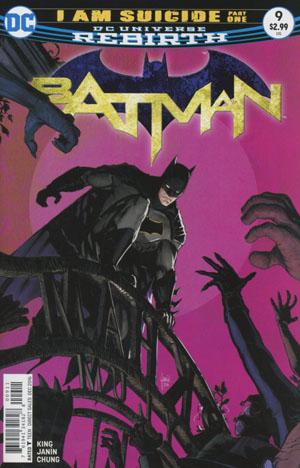 Batman Vol 3 #9 Cover A Regular Mikel Janin Cover