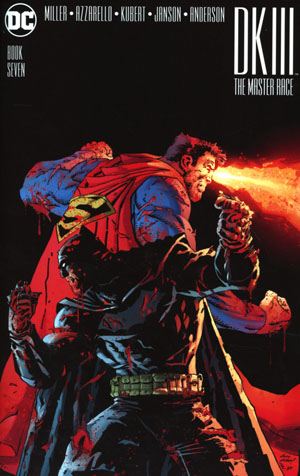 Dark Knight III The Master Race #7 Cover A Regular Andy Kubert Cover
