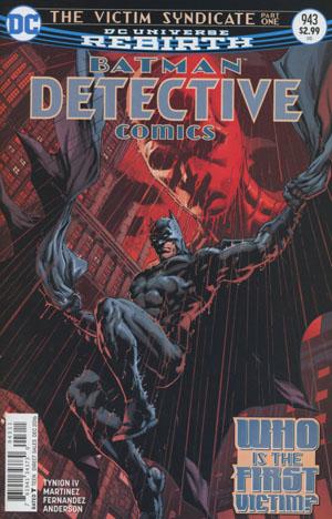 Detective Comics Vol 2 #943 Cover A Regular Jason Fabok Cover
