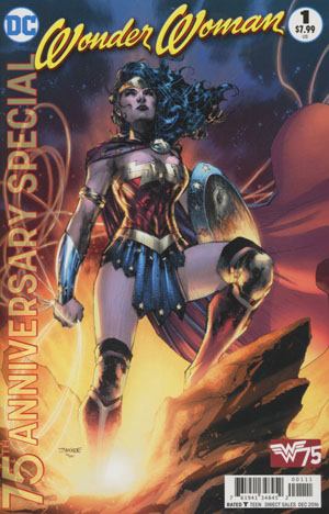 Wonder Woman 75th Anniversary Special #1 Cover A Regular Jim Lee Cover
